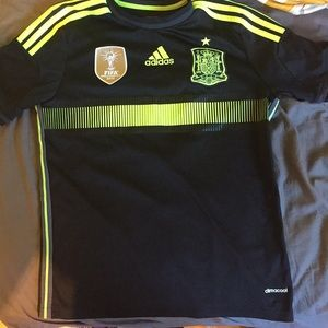 Authentic Spain FIFA World Champions Soccer Jersey